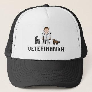 ピクセル獣医の帽子 キャップ