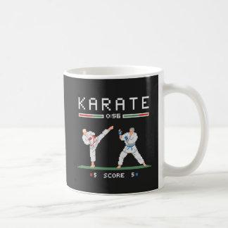 ピクセル空手のゲーム コーヒーマグカップ