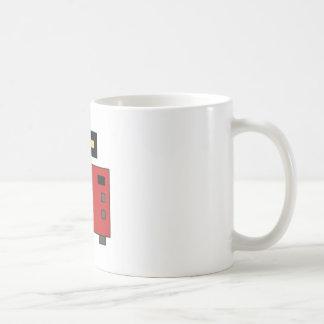 ピクセル芸術のレトロのカメラ コーヒーマグカップ