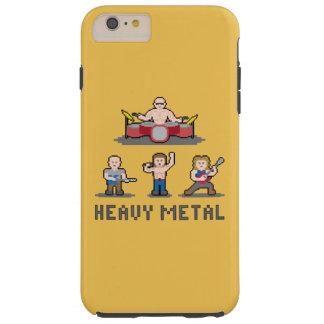 ピクセル重金属のiPhone 6のプラスの場合 Tough iPhone 6 Plus ケース