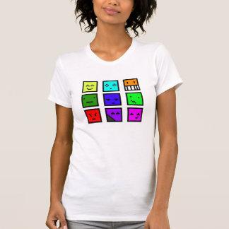 ピクセル頭部 Tシャツ