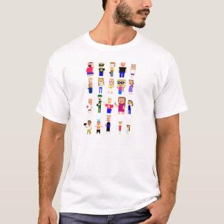 ピクセル(効果無し) Tシャツ