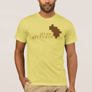 ピクセルAfricain Tシャツ