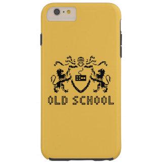 ピクセルHeraldic古い学校のiPhone 6のプラスの場合 シェル iPhone 6 ケース