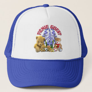 ピクニックゲストの~の帽子 キャップ