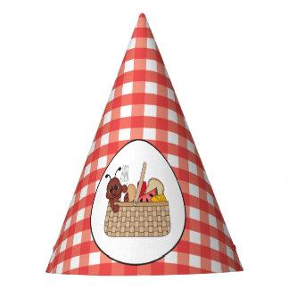 ピクニックパーティの蟻の紙の帽子 パーティーハット