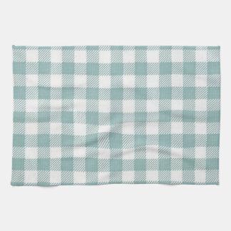 ピクニック伝統的な格子縞のギンガムのチェック模様のパターン キッチンタオル