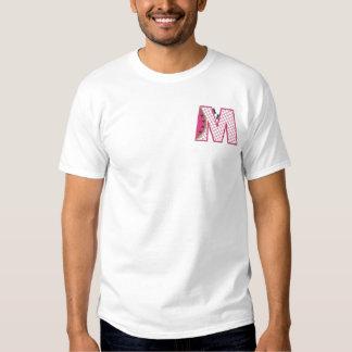 ピクニック手紙M 刺繍入りTシャツ