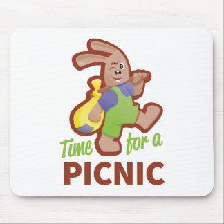 ピクニック時間 マウスパッド