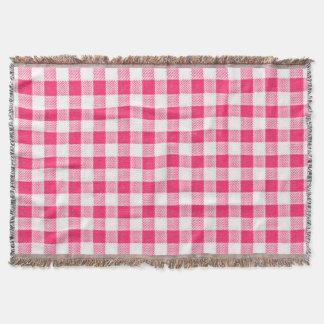 ピクニック毛布赤点検--ユニセックス スローブランケット