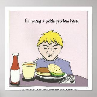 ピクルス問題ポスター ポスター