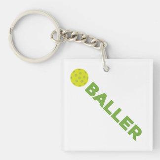(ピクルス) Baller Pickleball Keychain キーホルダー