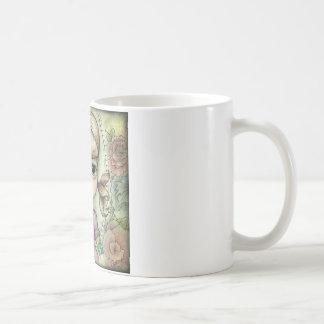 ピグテールおよび入れ墨 コーヒーマグカップ