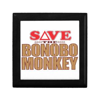 ピグミーチンパンジー猿の保存 ギフトボックス