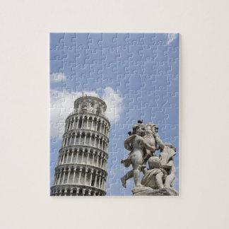 ピサおよび彫像、イタリアの斜塔 ジグソーパズル