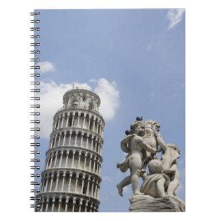 ピサおよび彫像、イタリアの斜塔 ノートブック
