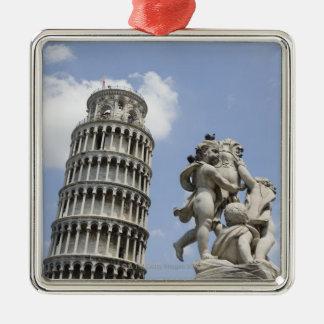 ピサおよび彫像、イタリアの斜塔 メタルオーナメント
