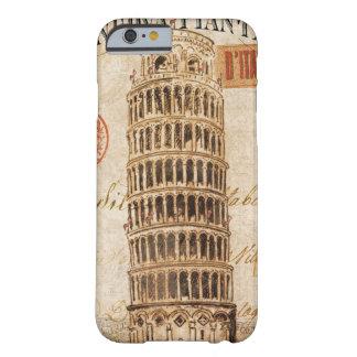 ピサのヴィンテージの斜塔 BARELY THERE iPhone 6 ケース