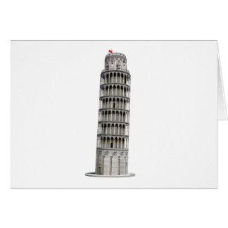 ピサの斜塔: カード