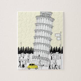 ピサの斜塔 ジグソーパズル