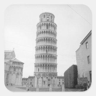 ピサの斜塔 スクエアシール