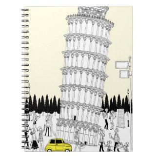 ピサの斜塔 ノートブック