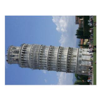 ピサの斜塔 ポストカード
