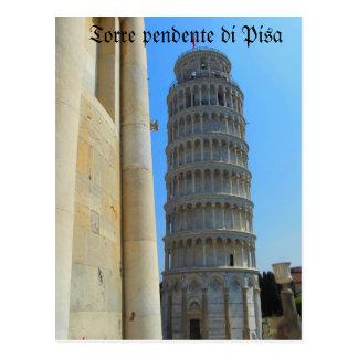 ピサイタリアの斜塔 ポストカード