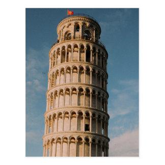 ピサ-イタリアの斜塔 ポストカード