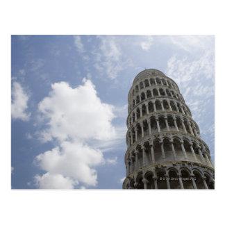 ピサ、イタリア3の斜塔 ポストカード