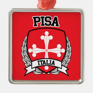 ピサ メタルオーナメント