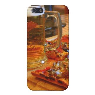 ピザおよびビール iPhone SE/5/5sケース