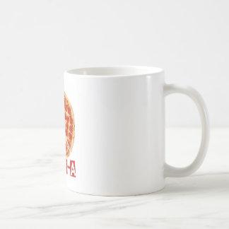 ピザおよび平和恋人のための平和 コーヒーマグカップ