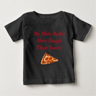 ピザこね粉の子供 ベビーTシャツ
