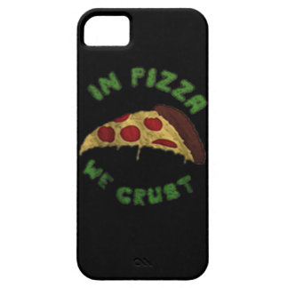 ピザで私達はIphone 5/5Sの場合を外皮で包みます iPhone SE/5/5s ケース