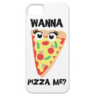 ピザに私がほしいと思って下さいか。 おもしろいなピザiPhoneの場合 iPhone SE/5/5s ケース