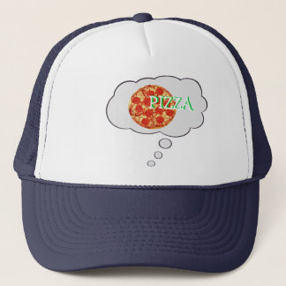 ピザの考えることは泡帽子を考えます キャップ