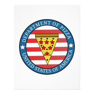 ピザの部門 レターヘッド