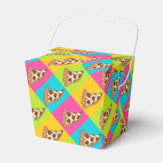 ピザはテイクアウトの容器箱をスライスします フェイバーボックス