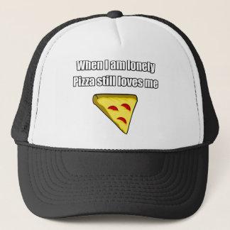 ピザは私が孤独なとき私を愛します キャップ