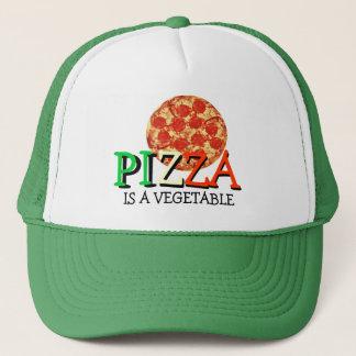 ピザは野菜おもしろいな引用文です キャップ