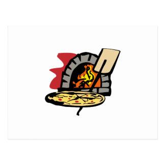 ピザオーブン ポストカード