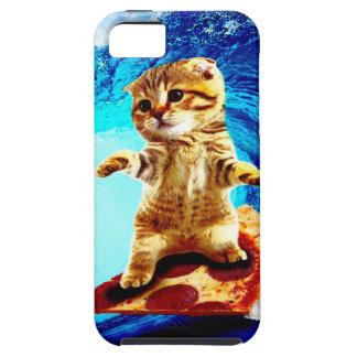 ピザサーフィン猫 iPhone SE/5/5s ケース