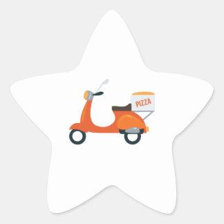 ピザスクーター 星シール
