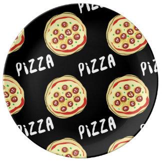 ピザパターン 磁器プレート