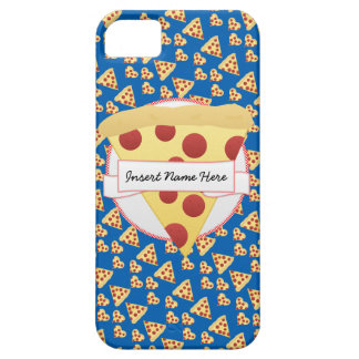 ピザパーティのカスタマイズ可能なモノグラム iPhone SE/5/5s ケース