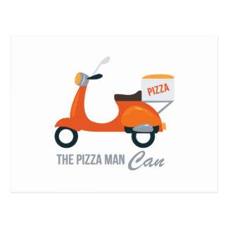 ピザ人 ポストカード