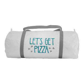 ピザ体育館のバッグ ジムバッグ