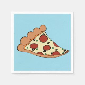 ピザ切れのカクテルのナプキン スタンダードカクテルナプキン