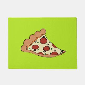 ピザ切れのカスタムの玄関マット ドアマット